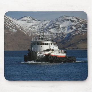 Malolo, Sleepboot in Nederlandse Haven, AK Muismatten