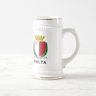 MALTA - embleem/wapenschild/symbool/vlag Bierpul