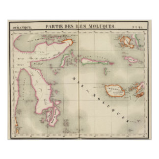 Maluku Oceanië nr 21 Poster