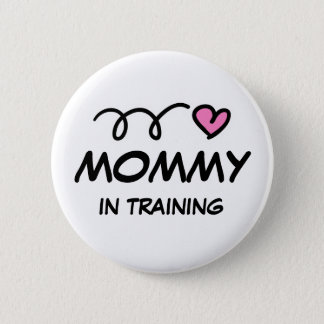 Mama in opleidings pinback knoop ronde button 5,7 cm