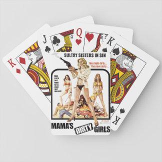 Mama Vuile Meisjes Speelkaarten