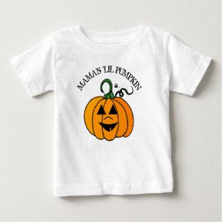 Mama Weinig Overhemd van Halloween van de Pompoen Baby T Shirts