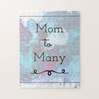 Mamma aan velen legpuzzel