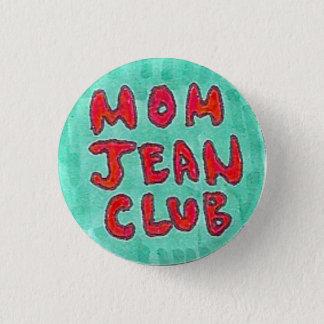 Mamma Jean Club Ronde Button 3,2 Cm