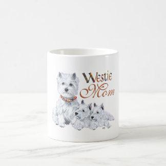 Mamma & Jongen van Terrier van het Hoogland van Koffiemok