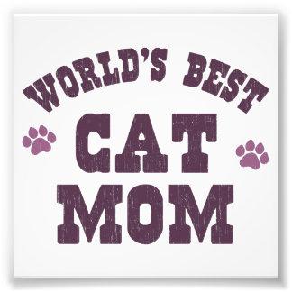 Mamma van de Kat van de wereld het Beste Foto Afdruk
