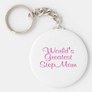 Mamma van de Stap van werelden het Grootste Sleutelhanger
