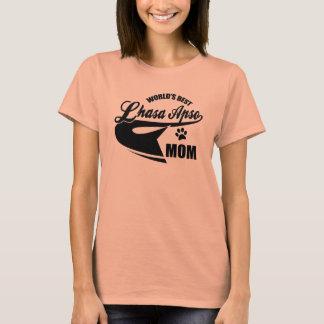 Mamma van Lhasa Apso van de wereld het Beste T Shirt