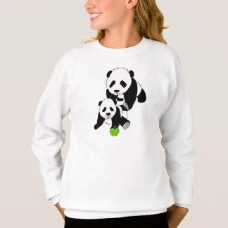 Mamma's en de Panda van het Baby Trui