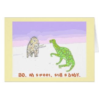 Mammoet en Dinosaurus Kaart