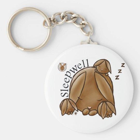 Mammy Round Rabbit-Sleepwell-Keychains Sleutelhanger