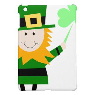 Man van de Klaver van de kabouter het Gelukkige iPad Mini Cover