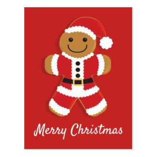 Man | van de Peperkoek van de kerstman Briefkaart