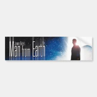 Man van de Sticker van de Bumper van de Aarde