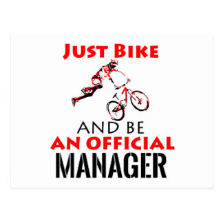 manager ontwerp briefkaart
