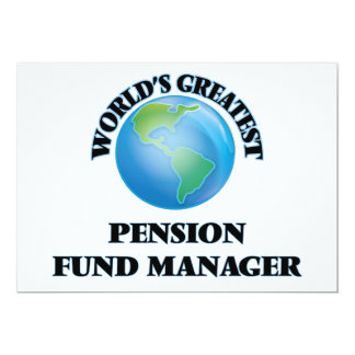 Manager van het Fonds van het Pensioen van de Uitnodiging