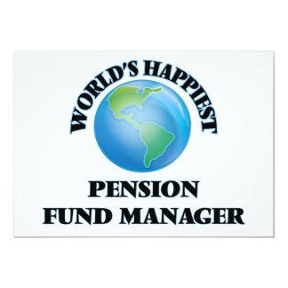 Manager van het Fonds van het Pensioen van de