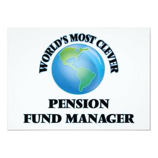 Manager van het Fonds van het Pensioen van de Uitnodigingen