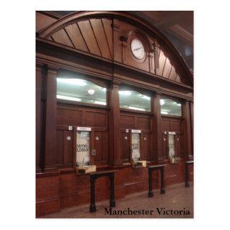 Manchester Victoria Briefkaart