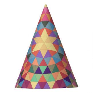 Mandala 1 van de driehoek feesthoedjes