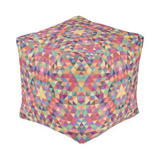 Mandala 1 van de driehoek vierkant zitkussen