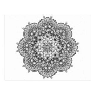 Mandala aan Kleur binnen Briefkaart