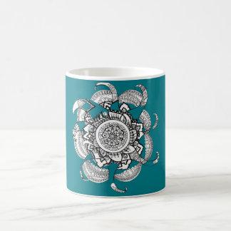 Mandala van de brand koffiemok