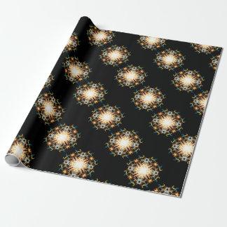 Mandala van de verlichting inpakpapier