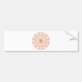 Mandala van de ziel bumpersticker