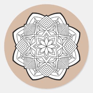 Mandalas Ronde Sticker