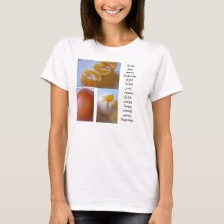 mandarijn fruitig overhemd t shirt