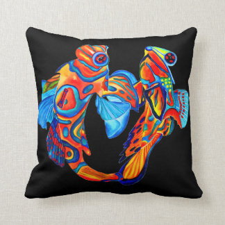 Mandarin de vissen ontwerpen decoratief kussen
