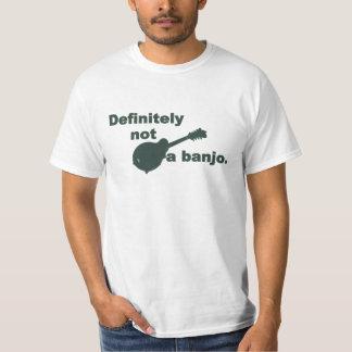 Mandoline -- Absoluut niet een Banjo T Shirt