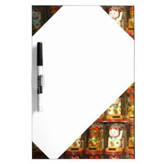 Maneki-Neko 002.3, winke-Glueckskatzen, Winkekatze Whiteboards