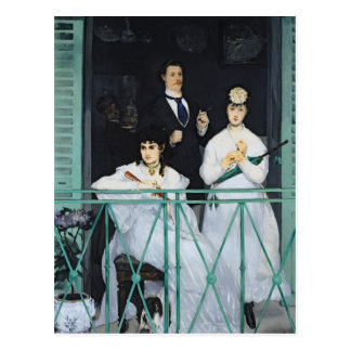 Manet | Balkon, 1868-9 Briefkaart