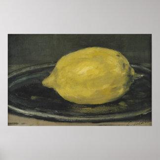 Manet | Citroen, 1880 Poster