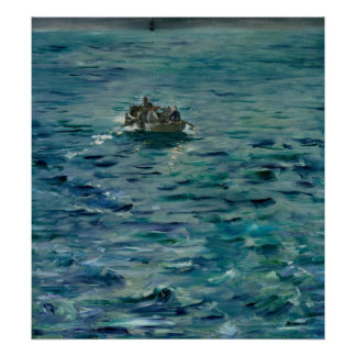 Manet | de Vlucht van Henri de Rochefort Poster