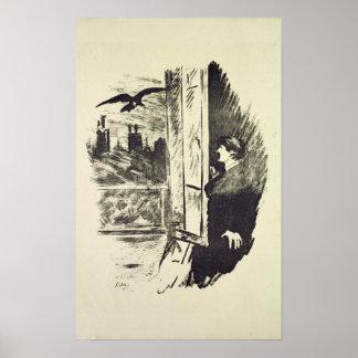 Manet | Illustratie voor 'Raven Poster