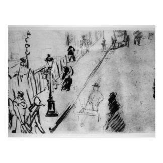 Manet   Rue Mosnier, c.1878 Briefkaart