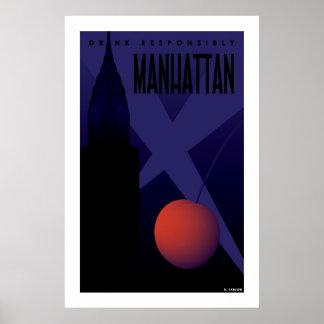 Manhattan (Groot Poster) Poster