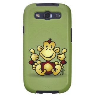 Samsung Galaxy S3 hoesje met aap