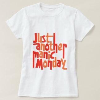 Manic Typografie van de Cultuur van de Pop van de T Shirt