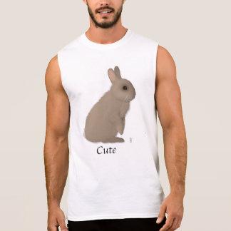 Mannelijk Konijn T Shirt
