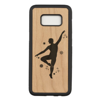 Mannelijke Danser met Sterren en Sneeuwvlokken Carved Samsung Galaxy S8 Hoesje