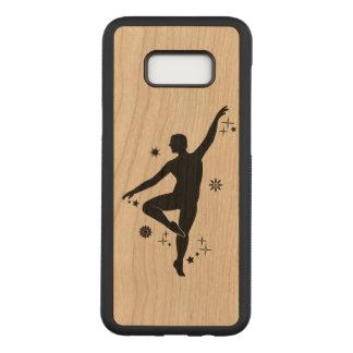 Mannelijke Danser met Sterren en Sneeuwvlokken Carved Samsung Galaxy S8+ Hoesje