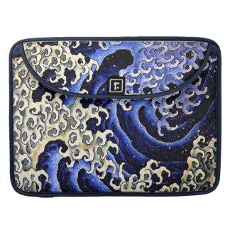 Mannelijke Golf (Detail) door Hokusai MacBook Pro Beschermhoes