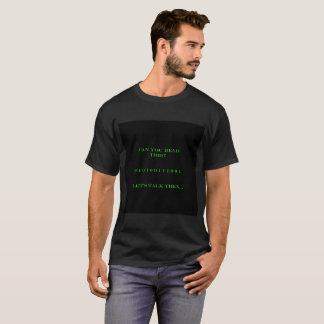Mannen 1337 het Binaire Overhemd van de Lezing T Shirt