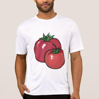 Mannen Actieve T-shirt van twee het Rode Tomaten