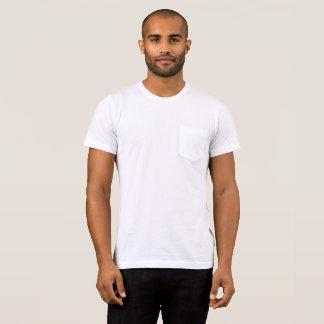 Mannen Bella+De T-shirt van de Zak van het canvas