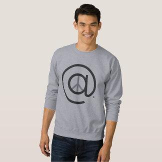 Mannen bij het BasisSweatshirt van de Vrede Trui